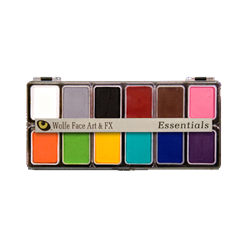 12 Color Face Paint Palette-Essential