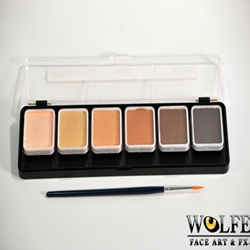 6 Color Face Paint Palette-Skinz