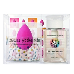 One Pink Beauty Blender + Cleanser-Kit