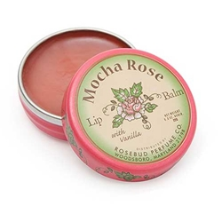 Lip Balm Mocha Rose Jar .8oz