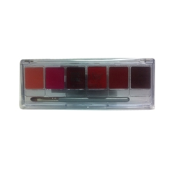 Lip Colour Palette Fashion 6-Color