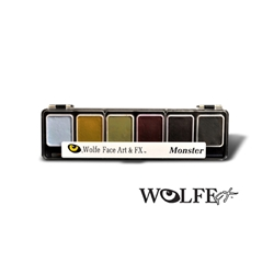 6 Color Face Paint Palette Monster
