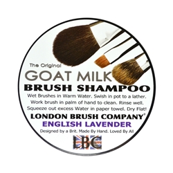 Eng. Lavender Goat Milk Brush Shamp 2oz