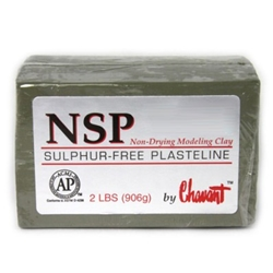 Chavant NSP Soft Green 40lbs case
