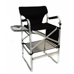 MST-690L Director Chair w/ Side Table