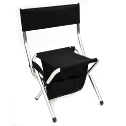 MST-680 Folding Chair Black
