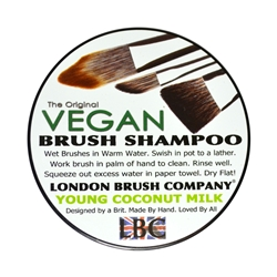 Vegan Brush Shampoo - Young Coconut 2oz