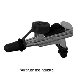 Dinair Airbrush Cleaning System - Black
