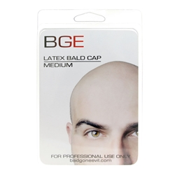 Latex Bald Cap - Medium