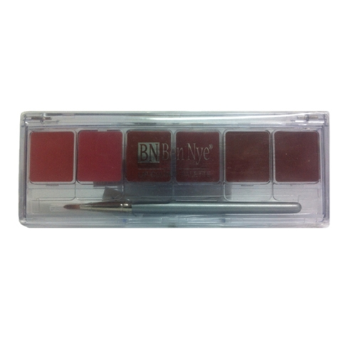 Lip Colour 6-Color Palette - Natural