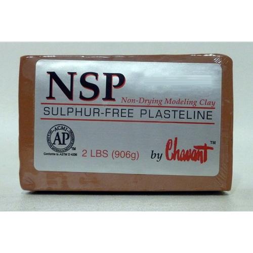 Chavant NSP Med Brown 2lbs