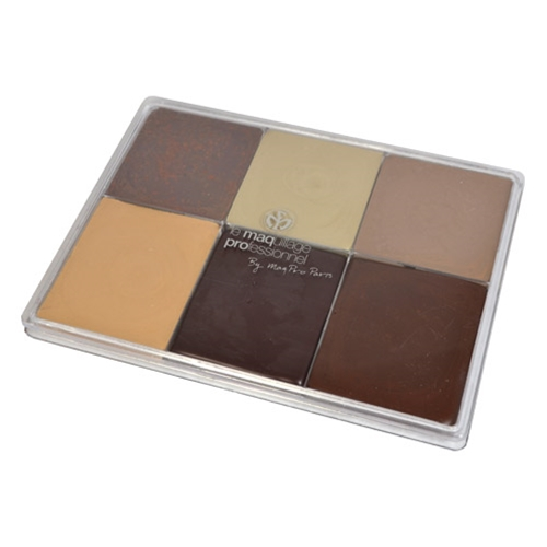 Fard Creme Palette 6-Color MAP13