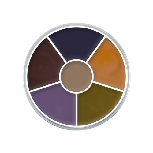 Cream Color Circle Bruise 6-Color