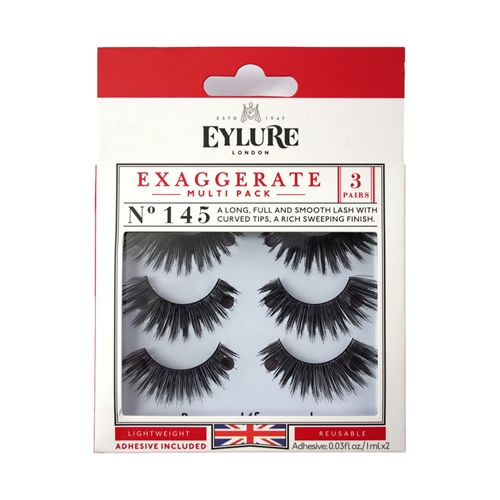 48bc35f3482 Nigel Beauty - Exaggerate Lash Multi-Pack #145 3ct